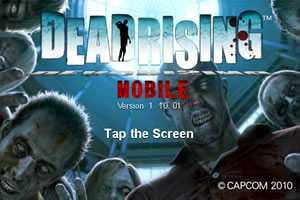 Dead Rising Mobile - Capcom iPhone