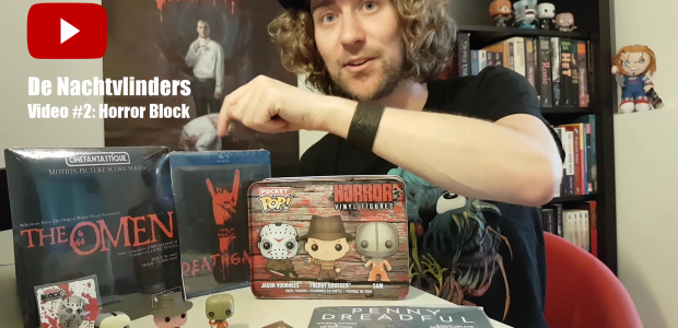 Dit keer in het Horror Block items van Penny Dreadful, Gremlins, Friday the 13th, Nightmare on Elm Street, Trick r' Treat en Deathgasm! En een prijsvraag.